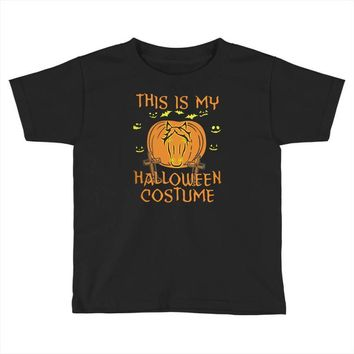 this is my halloween costume Toddler T-shirt