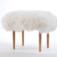 Sheepskin Footstool - Carys from Baa Stool | Made By Baa Stool | £215.00 | BOUF