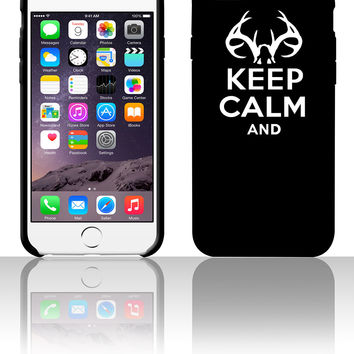 keep calm and deer hunt text 5 5s 6 6plus phone cases