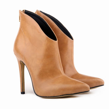Kylie Leather Ankle Boots