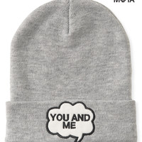 Aeropostale  Womens You And Me Beanie - Gray, One