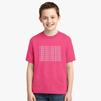 1-800 Hot Line Bling Youth T-shirt