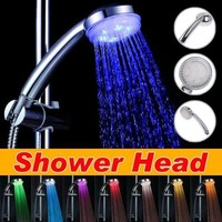 DragonPad 7 COLOR LED SHOWER HEAD ROMANTIC LIGHTS WATER HOME BATH - Xmas day