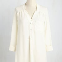 Pam Breeze-ly Tunic in Ivory
