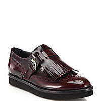 Tod's - Leather Wingtip Loafers - Saks Fifth Avenue Mobile