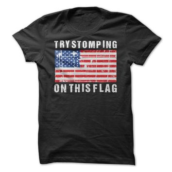 Try Stomping On This Flag