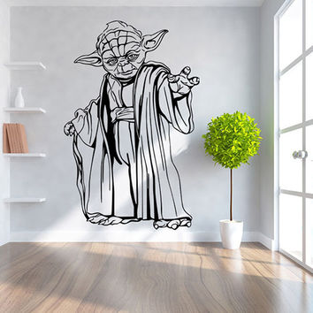 Star Wars Yoda Wall Decal