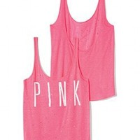 Low-back Tank - PINK - Victoria's Secret