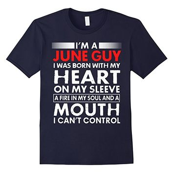 JUNE GUY, I Can't Control Birthday T-Shirt
