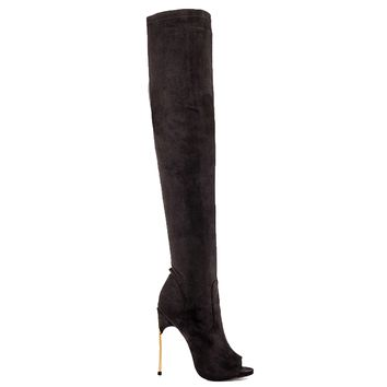 LUST FOR LIFE RAVE THIGH HIGH BOOT