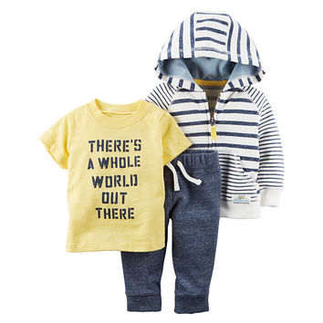 Carter's 3-pc. Pant Set Baby Boys - JCPenney