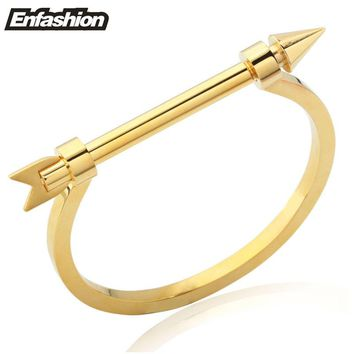 Arrow Cartier Style locking bracelet