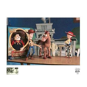 Woody's Finest Hour - Limited Edition Giclee on Paper by Disney/Pixar