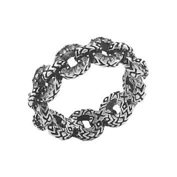 House of Harlow 1960 Jewelry Eternal Link Band Ring