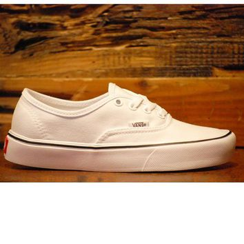 DCCKH2N Vans Authentic Lite Canvas - True White
