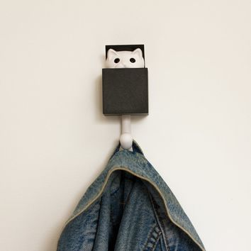 Kitt-a-Boo Wall Hook | Firebox.com - Shop for the Unusual