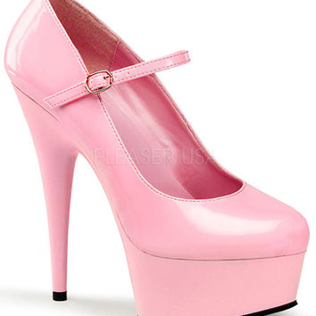 Baby Pink Mary Jane Pumps