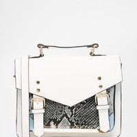 ASOS Snake Satchel Bag