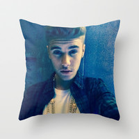 Selfies Throw Pillow by Jessica