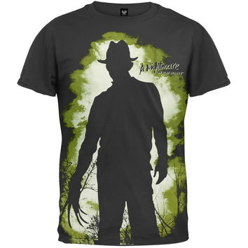 Nightmare On Elm Street - Silhouette Subway T-Shirt