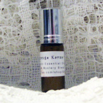 STRANGE KARMA PERFUME Your Choice of  Natural and Organic Scented Oils in Rich Jojoba Oil Base Handmade Graduation Day Gift for Her or Him