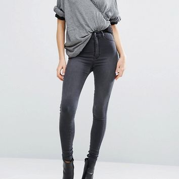 Dr Denim Solitaire Super High Waist Super Skinny Jean at asos.com