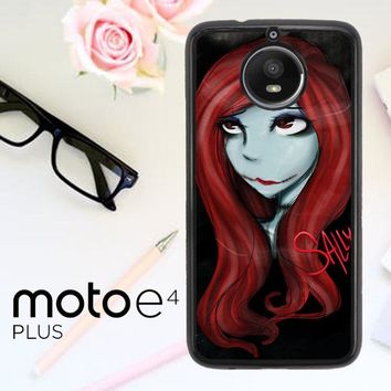 Sally The Nightmare Before Christmas Y0861 Motorola Moto E4 Plus Case
