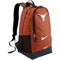 Nike Texas Longhorns Large Training Backpack - Burnt Orange