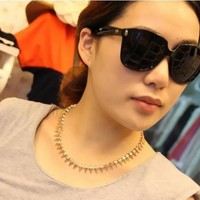 The of retro luxury modern punk rivets diamond BLING exaggerated personality flash short necklace [nechot11] - $6.75 : Favorwe.com Supply all kinds of cheap fasion jewelry