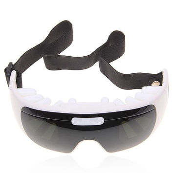 Eye Care Massage HF Magnetic Field Massage Point (Black and White)