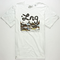 Lrg Original Roots People Mens T-Shirt White  In Sizes