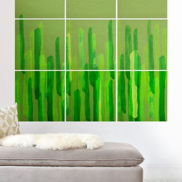 Viviana Gonzalez Greenery Sensation 04 Wood Wall Mural | DENY Designs Home Accessories
