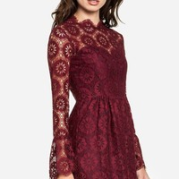 DAILYLOOK Women's, DV Dolce Vita Pissaro Dress, burgundy, S