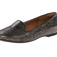 Clarks Valley Lounge Shoes Pewter Snake