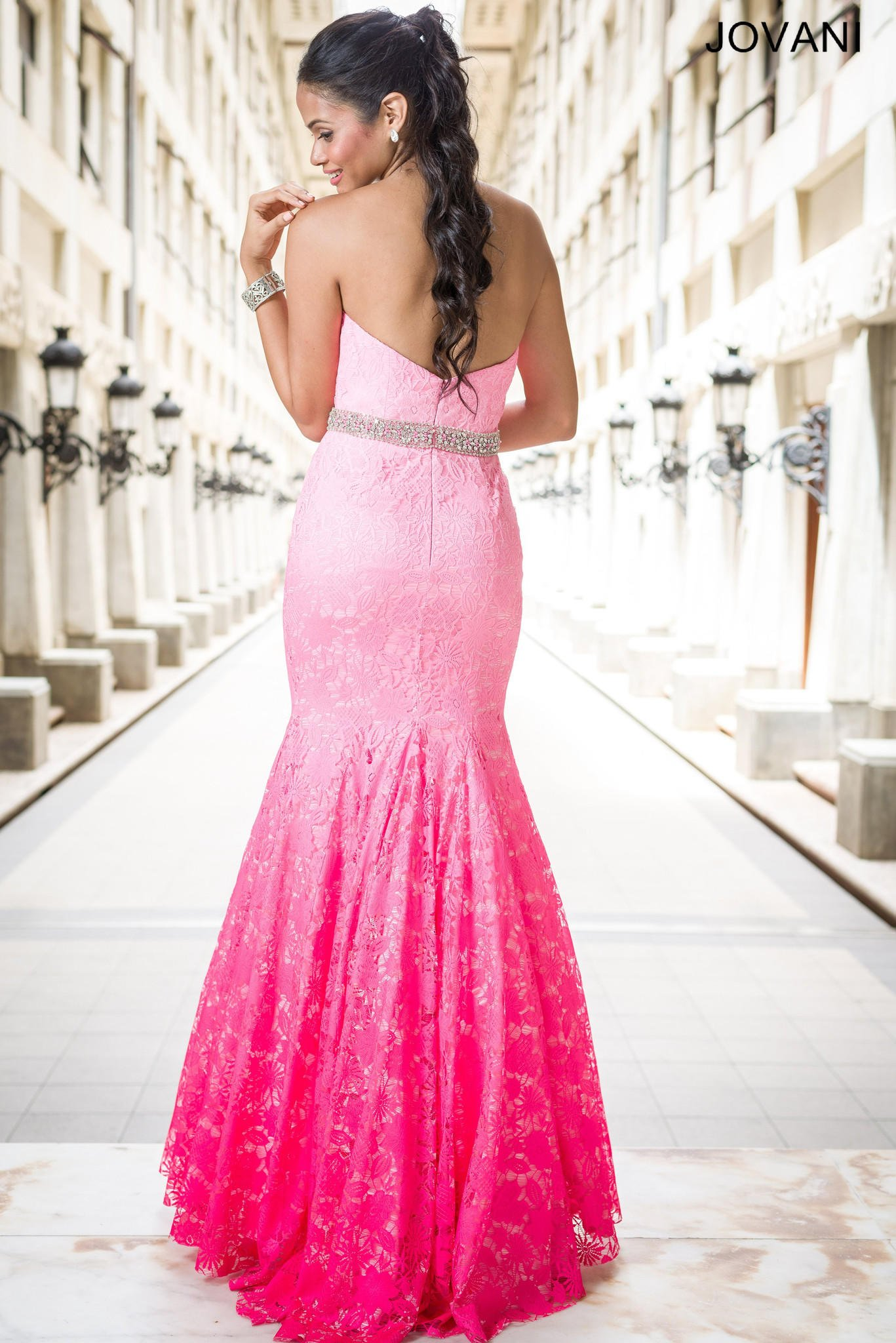 Jovani 29126 In Stock Pink Ombre Size 12 from myprimabella | In