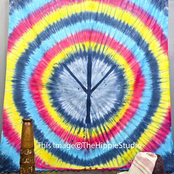 Hippie Tapestries, Tapestry Wall Hanging, Bohemian Tapestries, Psychedelic Tapestry, Mandala Tapestries, Dorm Decor, Peace Sign Tapestries