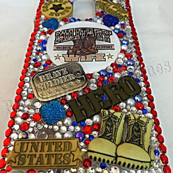 Galaxy Note 4 phone case, military, military wife, military wife phone case, galaxy phone case, army, navy, wife, cell phone case