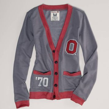 Ohio State Vintage Varsity Cardigan | American Eagle Outfitters