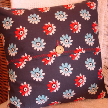 Daisy Pillow Cover Denyse Schmidt Daisy Mae by KaysGeneralStore