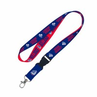 NCAA Gonzaga Bulldogs Lanyard with detachable buckle