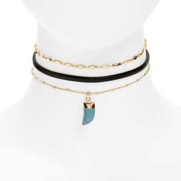 Loren Olivia Layered Choker Necklace | Nordstrom