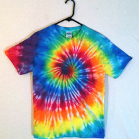 A Tye-Dye Spiral T-shirt in any size, gender, and colors you want !