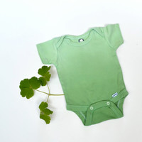 Green Body Suit, Ombre, Baby Clothing, Green Bodysuit, Green One Piece, Newborn Clothing
