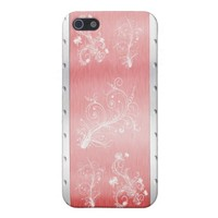 iPhone red floral of case iPhone 5/5S Cover