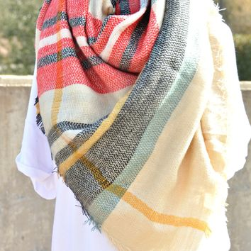Rustic Retreat Scarf - Black