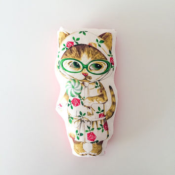 Free shipping, stuffed cat, cat pillow, cat toy