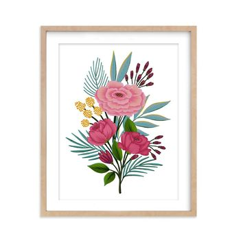 Floral Arrangement - Art Print