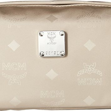 MCM Womens Dieter Monogrammed Nylon New Medium Pouch