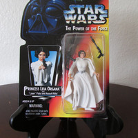 Princess Leia - Star Wars Power of the Force - Red Card - Action Figure