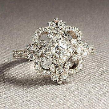 Custom Made REMAKE of the following ring by BeautifulPetra